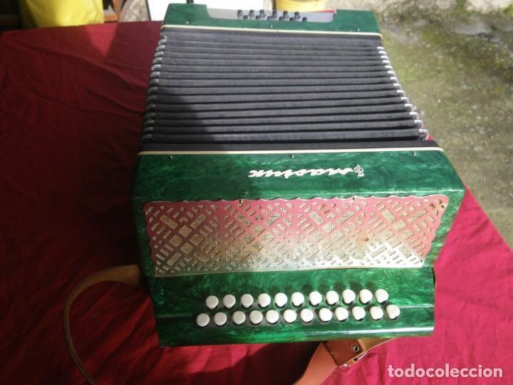 Instrumentos musicales: ANTIGUO ACORDEON FUNCIONANDO BIEN , MUY BONITO ..VER - Foto 4 - 192236988