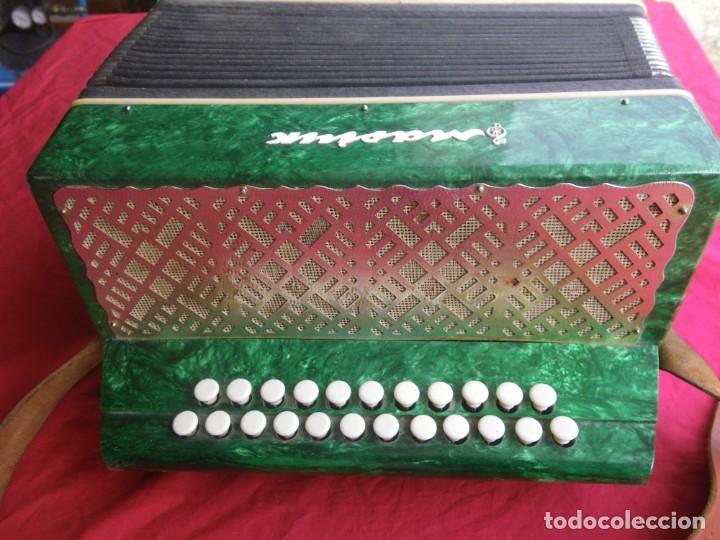 Instrumentos musicales: ANTIGUO ACORDEON FUNCIONANDO BIEN , MUY BONITO ..VER - Foto 5 - 192236988
