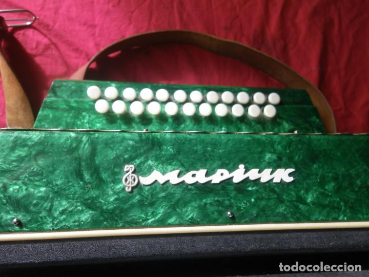 Instrumentos musicales: ANTIGUO ACORDEON FUNCIONANDO BIEN , MUY BONITO ..VER - Foto 14 - 192236988