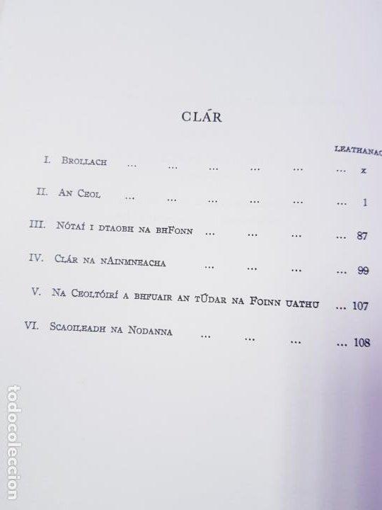 Instrumentos musicales: LIBRO/CUADERNO-CEOL RINCENA HÉIREANN-CUID 1-BREANDAN BREATHNACH-AN GUM-VER FOTOS - Foto 12 - 192398130