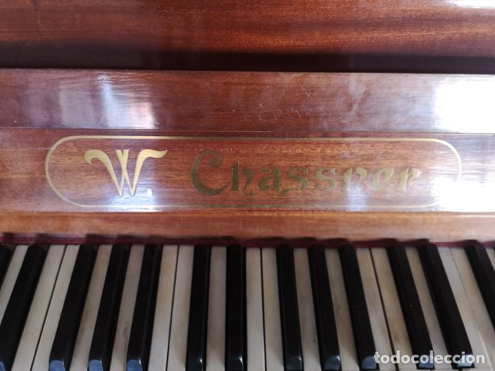 Instrumentos musicales: Piano alemán W. CHASSNER - Foto 5 - 192456636