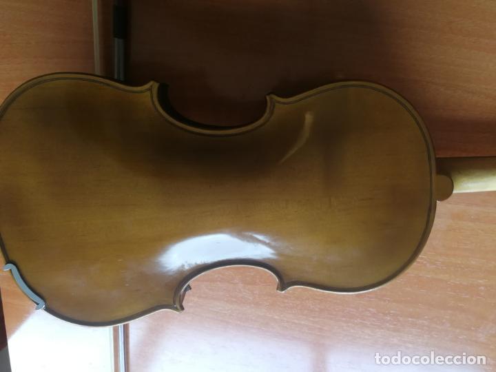 Instrumentos musicales: ANTIGUO VIOLÍN TAMAÑO 3/4 (56 CM.) MARCA NOVA ESTUDY CON SU ARCO. - Foto 13 - 192557033