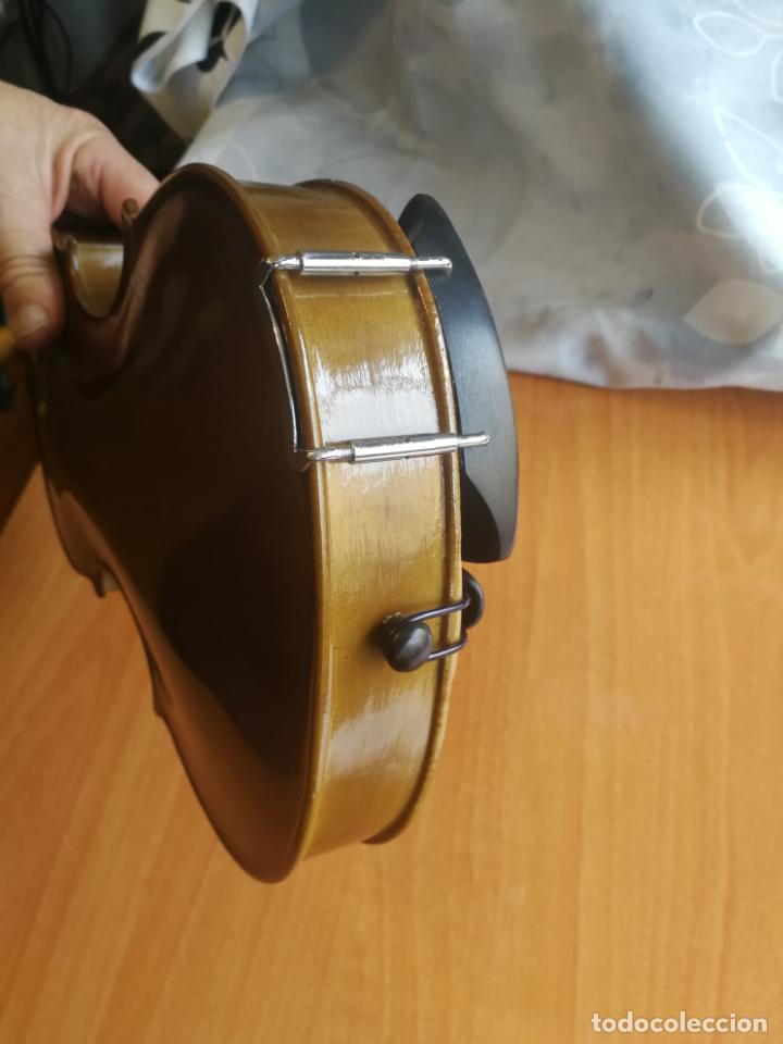 Instrumentos musicales: ANTIGUO VIOLÍN TAMAÑO 3/4 (56 CM.) MARCA NOVA ESTUDY CON SU ARCO. - Foto 16 - 192557033