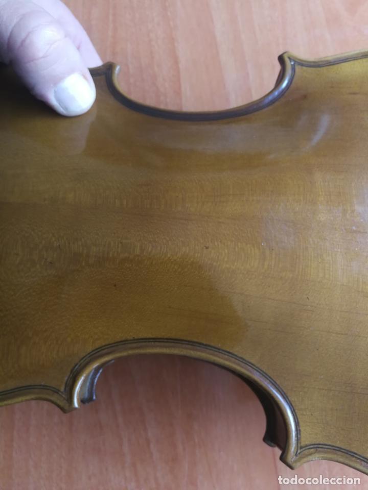 Instrumentos musicales: ANTIGUO VIOLÍN TAMAÑO 3/4 (56 CM.) MARCA NOVA ESTUDY CON SU ARCO. - Foto 17 - 192557033