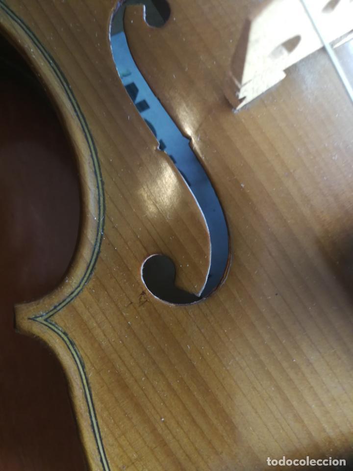 Instrumentos musicales: ANTIGUO VIOLÍN TAMAÑO 3/4 (56 CM.) MARCA NOVA ESTUDY CON SU ARCO. - Foto 18 - 192557033