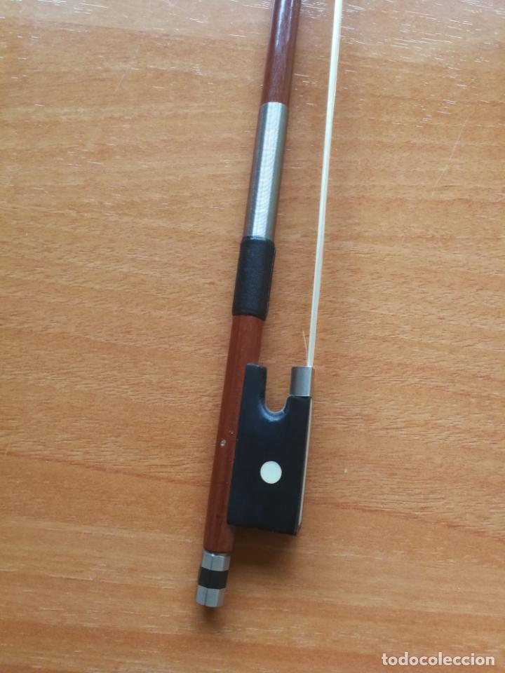 Instrumentos musicales: ANTIGUO VIOLÍN TAMAÑO 3/4 (56 CM.) MARCA NOVA ESTUDY CON SU ARCO. - Foto 19 - 192557033