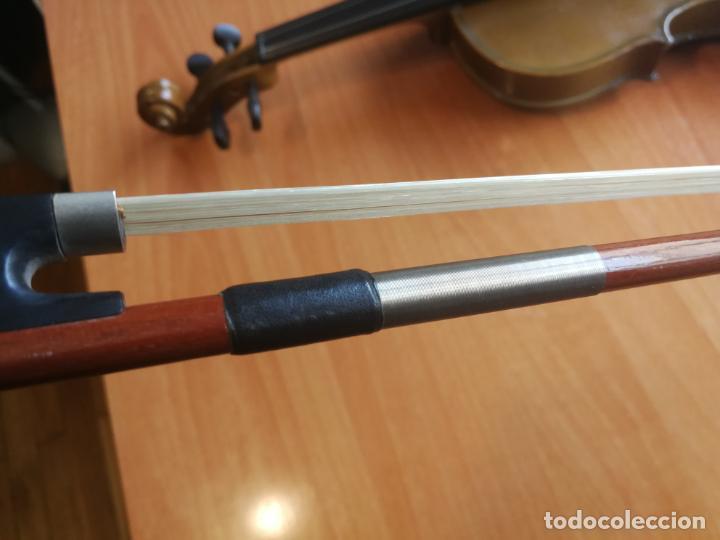 Instrumentos musicales: ANTIGUO VIOLÍN TAMAÑO 3/4 (56 CM.) MARCA NOVA ESTUDY CON SU ARCO. - Foto 20 - 192557033