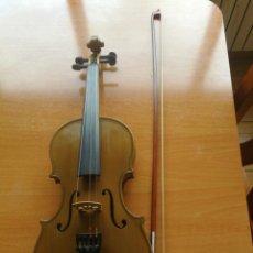 Instrumentos musicales: ANTIGUO VIOLÍN TAMAÑO 3/4 (56 CM.) MARCA NOVA ESTUDY CON SU ARCO.. Lote 192557033