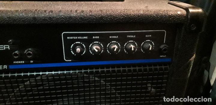 Instrumentos musicales: amplificador de bajo laney - Foto 2 - 192793811