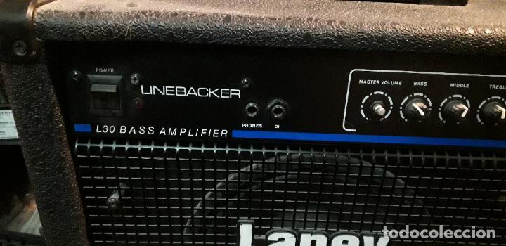 Instrumentos musicales: amplificador de bajo laney - Foto 3 - 192793811