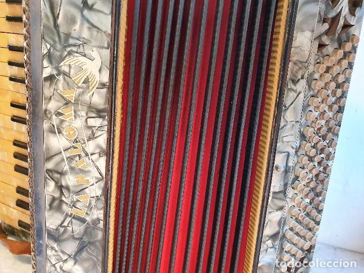 Instrumentos musicales: ANTIGUO ACORDEON LA PALOMA FUNCIONA - Foto 2 - 192954140