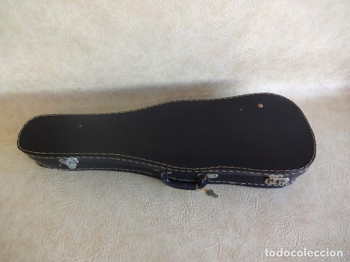 Instrumentos musicales: antiguo violin con funda - Foto 10 - 111866823