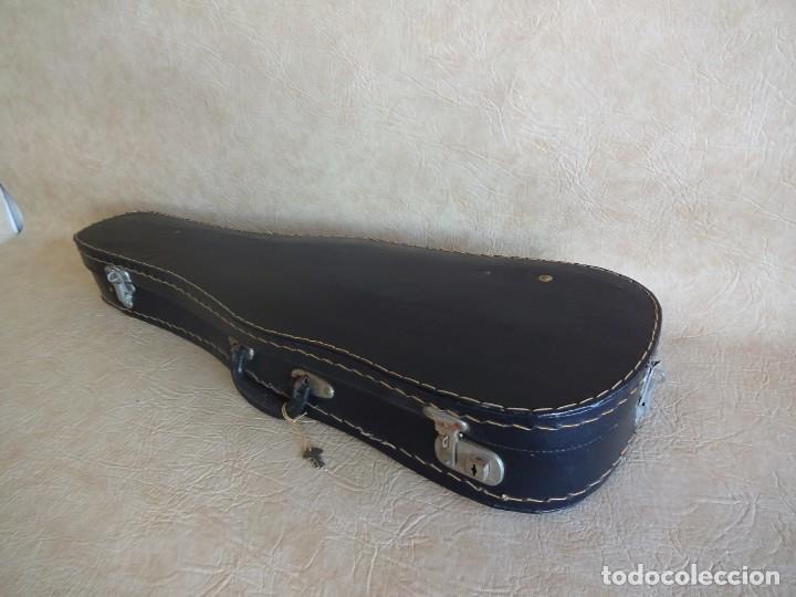 Instrumentos musicales: antiguo violin con funda - Foto 11 - 111866823