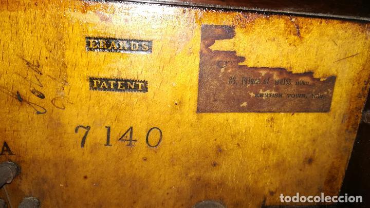 Instrumentos musicales: PIANO DE PARED PATENTE ERARD LONDRES - Foto 34 - 182972555