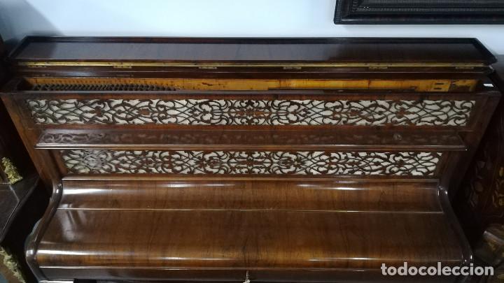 Instrumentos musicales: PIANO DE PARED PATENTE ERARD LONDRES - Foto 4 - 182972555