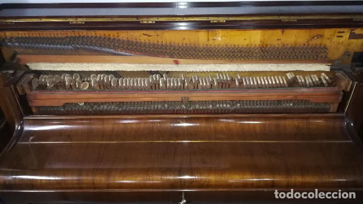 Instrumentos musicales: PIANO DE PARED PATENTE ERARD LONDRES - Foto 21 - 182972555