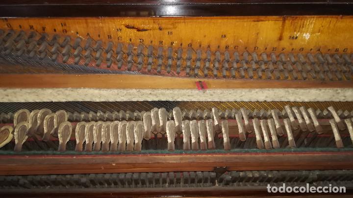 Instrumentos musicales: PIANO DE PARED PATENTE ERARD LONDRES - Foto 30 - 182972555