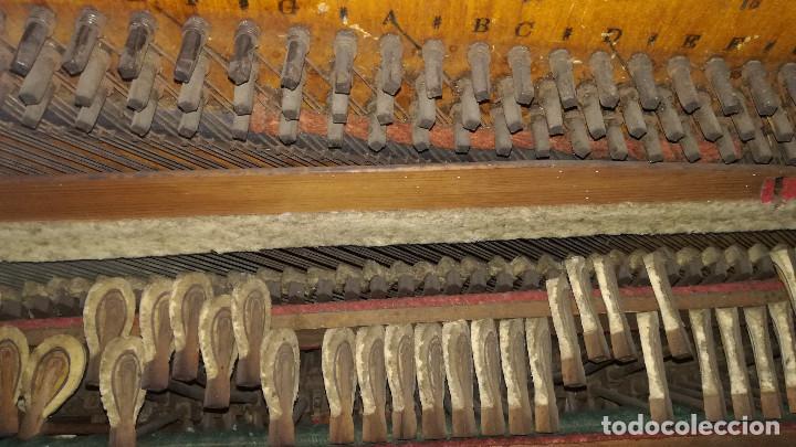 Instrumentos musicales: PIANO DE PARED PATENTE ERARD LONDRES - Foto 28 - 182972555