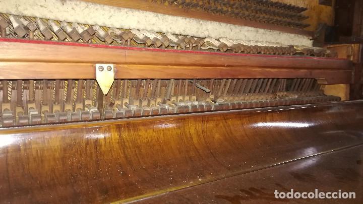 Instrumentos musicales: PIANO DE PARED PATENTE ERARD LONDRES - Foto 33 - 182972555