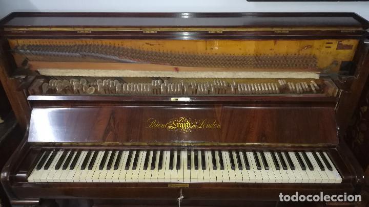 Instrumentos musicales: PIANO DE PARED PATENTE ERARD LONDRES - Foto 22 - 182972555