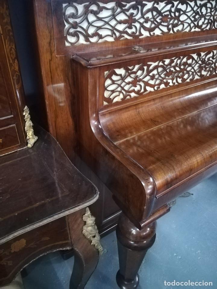 Instrumentos musicales: PIANO DE PARED PATENTE ERARD LONDRES - Foto 6 - 182972555