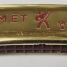 Instrumentos musicales: ANTIGUA HARMONICA HOHNER COMET EN G - MADE IN GERMANY. Lote 193003132