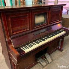 Instrumentos musicales: PIANOLA +PIANO MARCA CUSSO SFHA. Lote 193007670