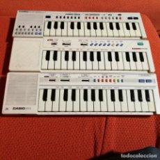 Instrumentos musicales: LOTE 3 CASIO PT-1 , PT-10 Y PT-20. Lote 193287068