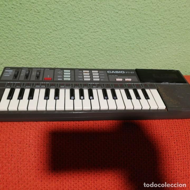 TECLADO CASIO PT-87 FUNCIONANDO (Música - Instrumentos Musicales - Teclados Eléctricos y Digitales)