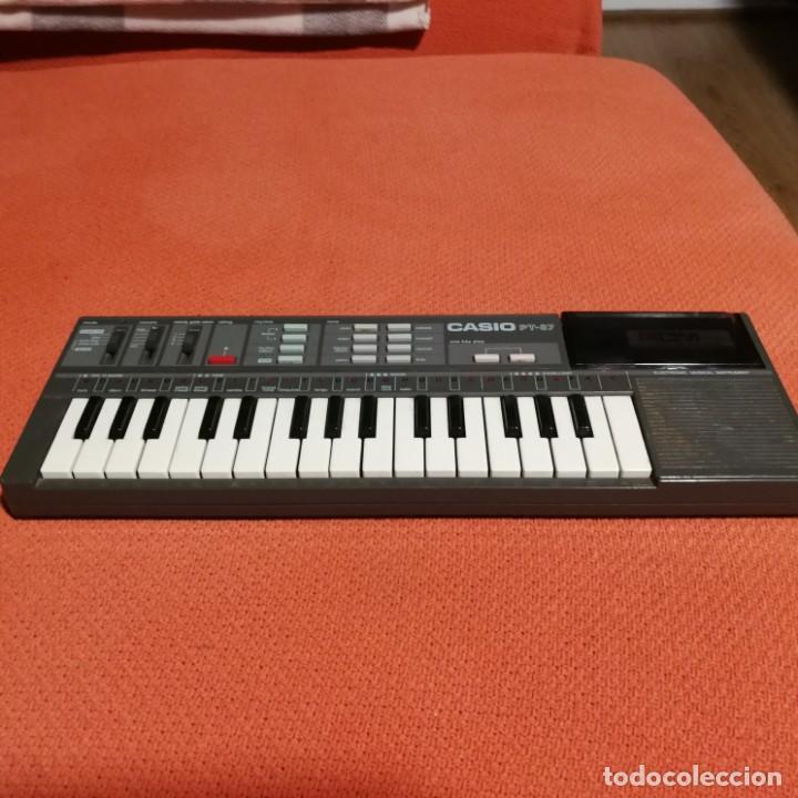 Instrumentos musicales: TECLADO CASIO PT-87 FUNCIONANDO - Foto 2 - 193287307