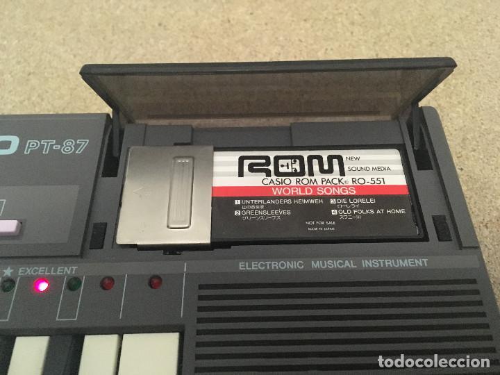 Instrumentos musicales: Organo Casio PT-87 con ROM RO-551 - Foto 2 - 193415158