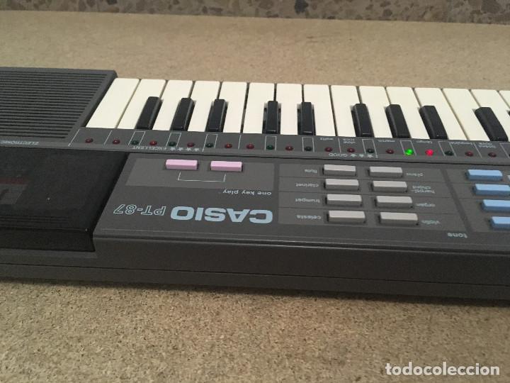 Instrumentos musicales: Organo Casio PT-87 con ROM RO-551 - Foto 13 - 193415158
