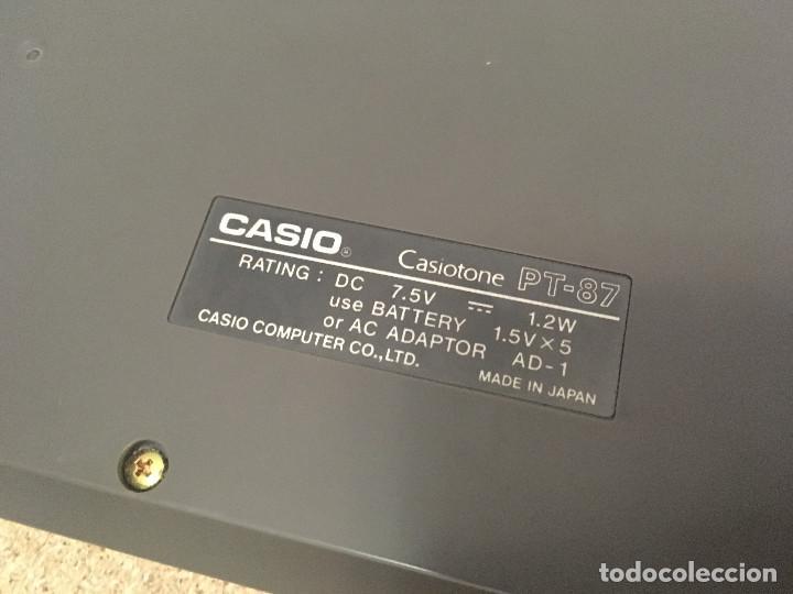 Instrumentos musicales: Organo Casio PT-87 con ROM RO-551 - Foto 16 - 193415158