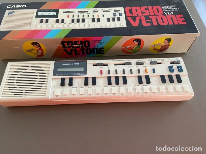 TECLADO CASIO VL1 TONE PORTATIL 1979 (Música - Instrumentos Musicales - Teclados Eléctricos y Digitales)