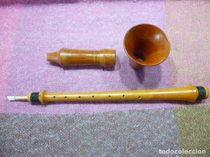 Instrumentos musicales: silbato renacentista alemán en SOL - Foto 3 - 193810605