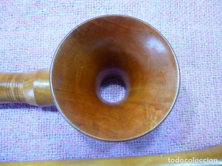Instrumentos musicales: silbato renacentista alemán en SOL - Foto 4 - 193810605