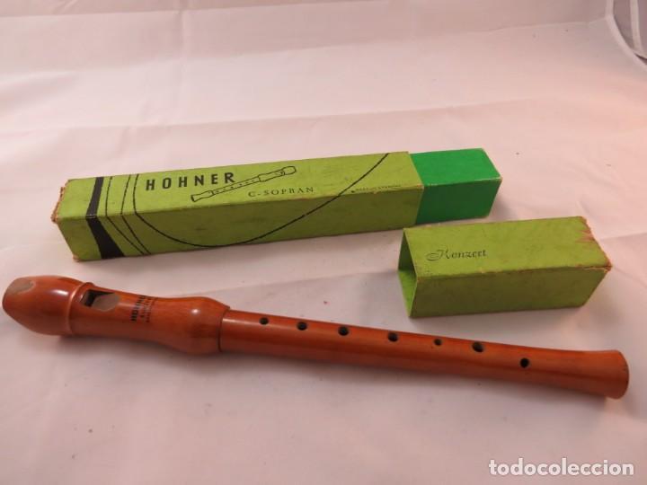 FLAUTA MADERA MARCA HOHNER MODELO C. SOPRAN (Música - Instrumentos Musicales - Viento Madera)