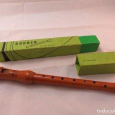 Instrumentos musicales: FLAUTA MADERA MARCA HOHNER MODELO C. SOPRAN. Lote 194114557