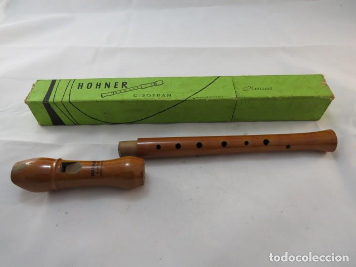 Instrumentos musicales: Flauta madera marca HOHNER modelo C. SOPRAN - Foto 2 - 194114557