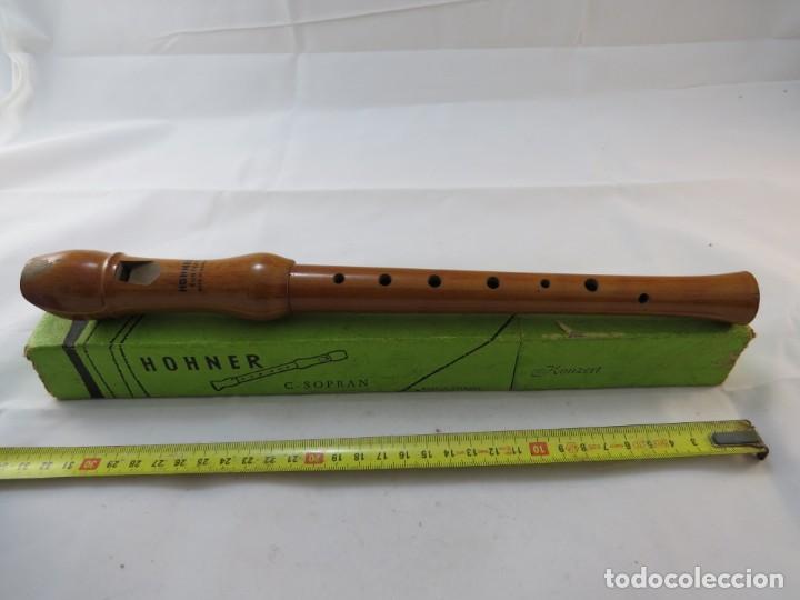 Instrumentos musicales: Flauta madera marca HOHNER modelo C. SOPRAN - Foto 3 - 194114557