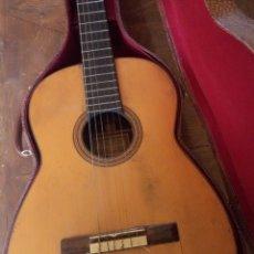 Instrumentos musicales: ANTIGUA GUITARRA ENRIQUE SANFELIU. AÑO 1935. CALLE ANCHA, 30 BARCELONA. Lote 194129873