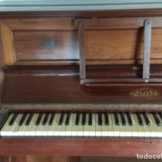 Instrumentos musicales: PIANO ANTIGUO DE ESTUDIO VERTICAL, COLOR NOGAL, MARCA ERARD.. Lote 194220297