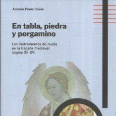 Instrumentos musicales: INSTRUMENTOS MEDIEVALES, SIGLOS XII - XV, ANTONIO POVES OLIVÁN, ZAROGOZA 2013, 206 PÁG.. Lote 194223600