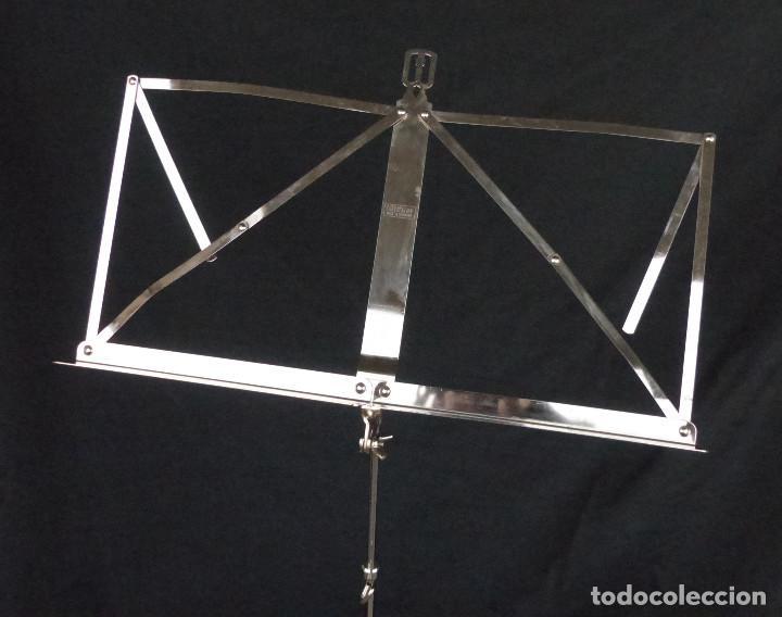 Instrumentos musicales: ATRIL WITTNER PLEGABLE - MADE IN GERMANY - BIEN CONSERVADO - Foto 2 - 194254321