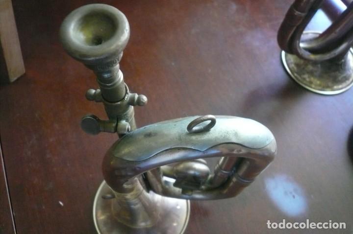 Instrumentos musicales: Corneta HONSUY con llave - Foto 5 - 194294753