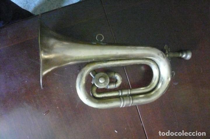 Instrumentos musicales: Corneta HONSUY con llave - Foto 6 - 194294753