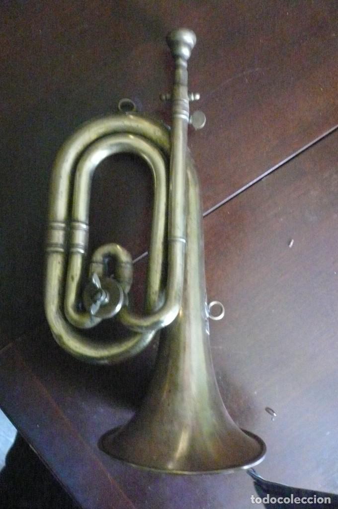 Instrumentos musicales: Corneta HONSUY con llave - Foto 7 - 194294753