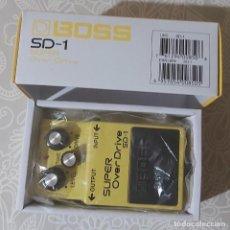 Instrumentos musicales: PEDAL BOSS SD-1 CON CAJA Y MANUALES. Lote 194368483