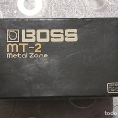 Instrumentos musicales: CAJA PEDAL BOSS MT-2 METAL ZONE. Lote 194373146