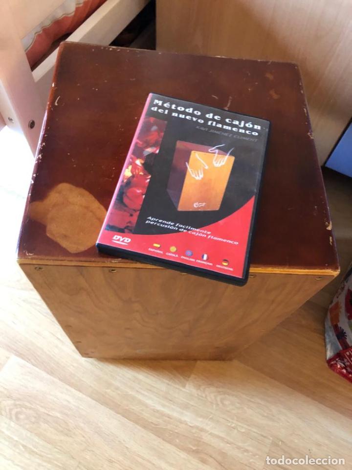 MÉTODO CAJÒN DEL NUEVO FLAMENCO POR XAVI JIMENEZ CLIMENT CAJÒN + DVD (Música - Instrumentos Musicales - Percusión)